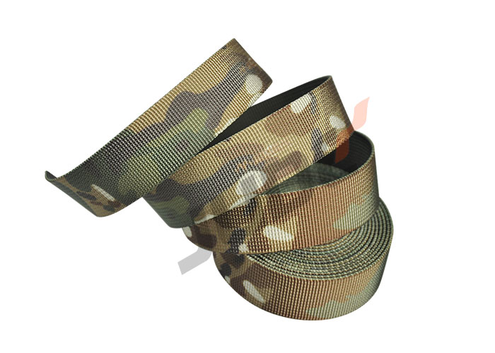 Custom Multicam 25mm 1 Inch Nylon Camo Webbing