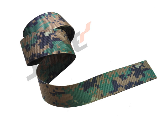 Brunei Pixelated Camouflage Pattern Webbing 38mm