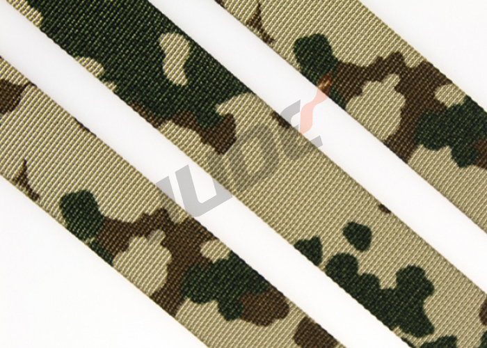 3-Color German Tropentarn Camouflage Webbing 20mm