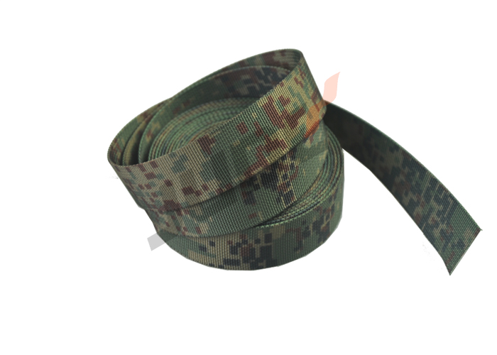 3-Color Russia Digital Camo Webbing 25mm
