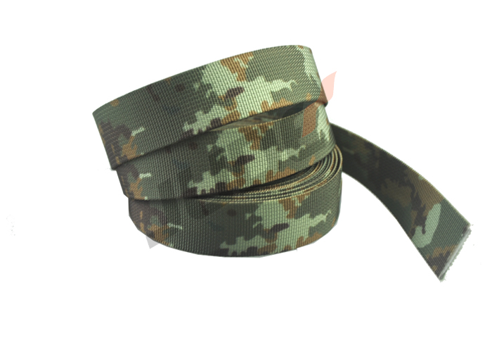 38mm Pixelated Camouflage Webbing 1 1/2