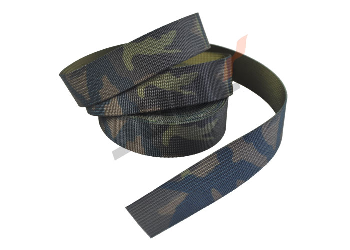20mm Woodland Camo Czech VZ 95 Leaf Pattern Webbing