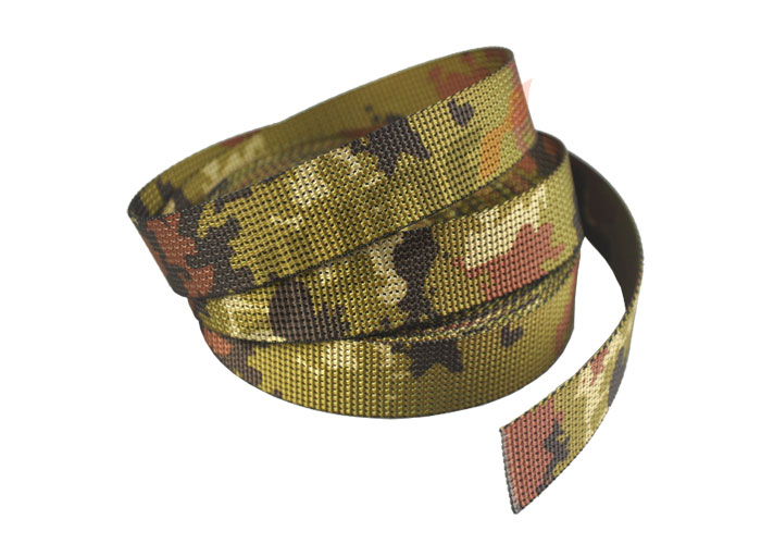 1 Inch Italian Vegetation Camo 25mm Webbing