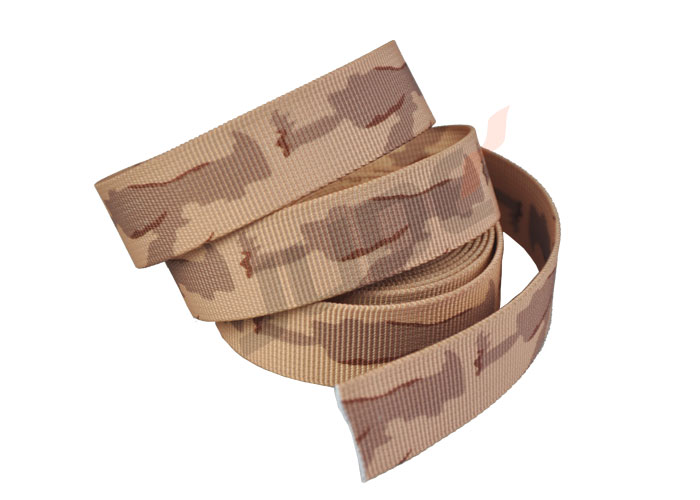 Custom 38mm US 3 Color Desert Camo Webbing