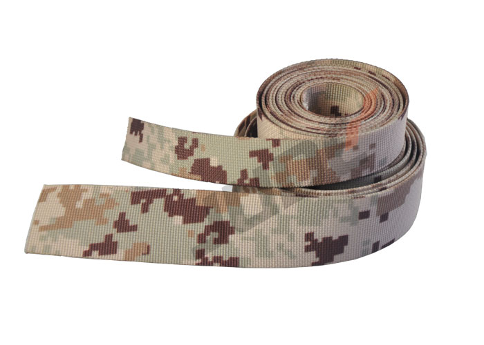Customized Saudi Arabia Digital Desert Camo Webbing