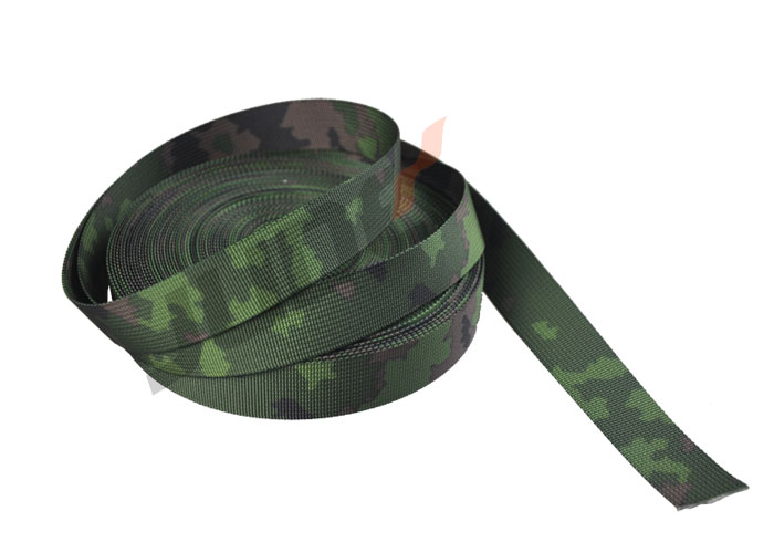 Camouflage M05 Woodland Pattern Webbing 2 Inch